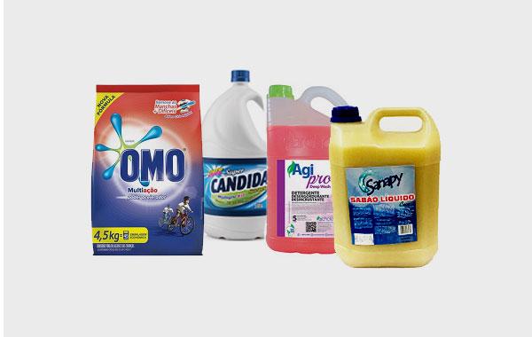 Entrega de Materiais de Limpeza