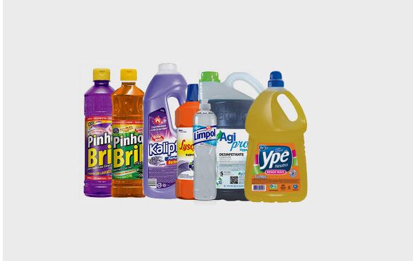 Entrega de Produtos de Limpeza